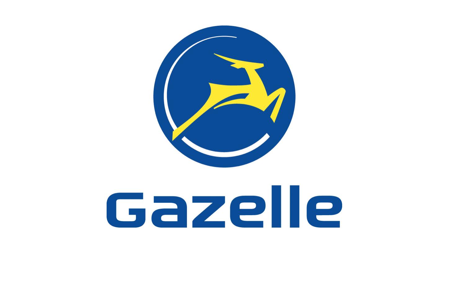 Afbeeldingsresultaat voor gazelle logo